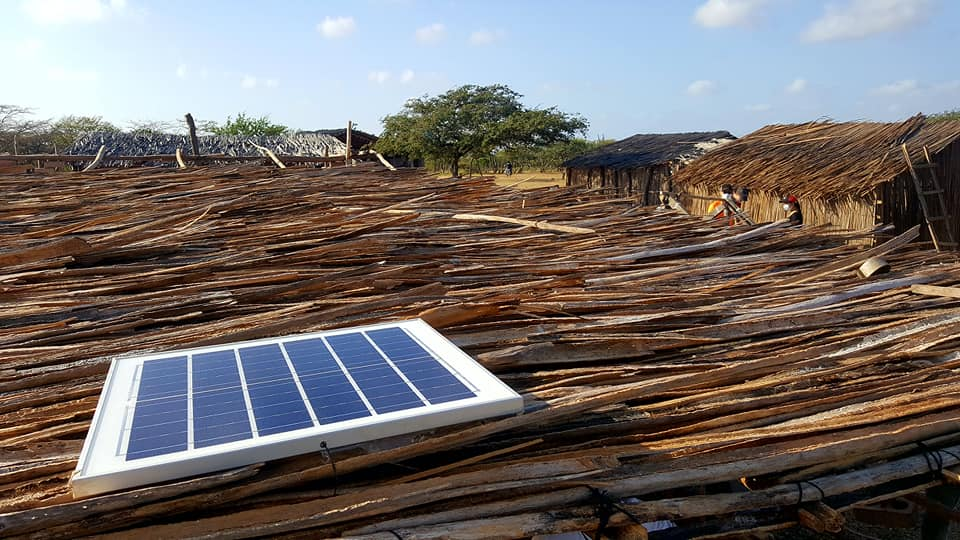 Sistema de Alumbrado, Off Grid – La Guajira, Colombia
