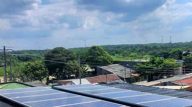 Sistema de Energía Solar On Grid 4,02 kWp – Bolivar, Colombia