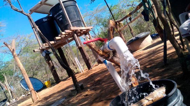 Sistema de Bombeo Solar 1/4 HP Automatizado Off Grid 0,52 kWp – La Guajira, Colombia
